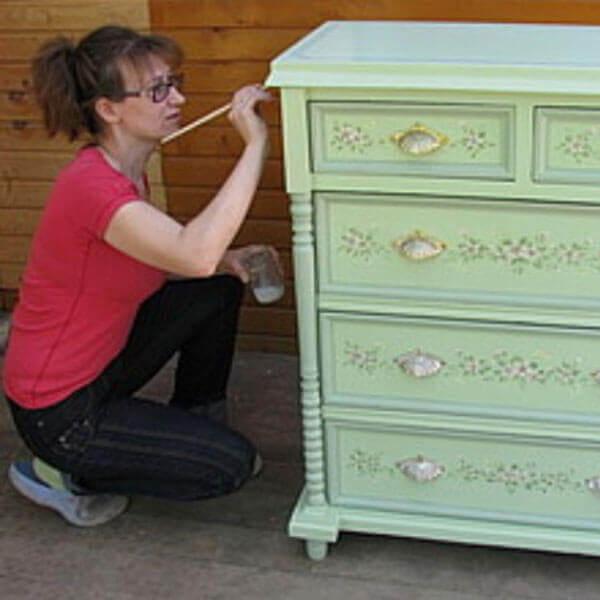 Как отреставрировать мебель мастер-класс