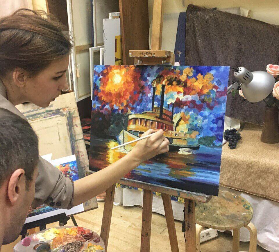 Обучение живописи москва бесплатно пухов словакия фото